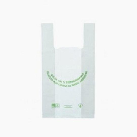 bolsa ecológica camiseta estándar de Plastibio