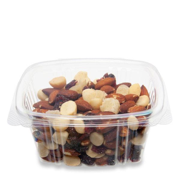 contenedor biodegradable con bisagras de 0.47 litros