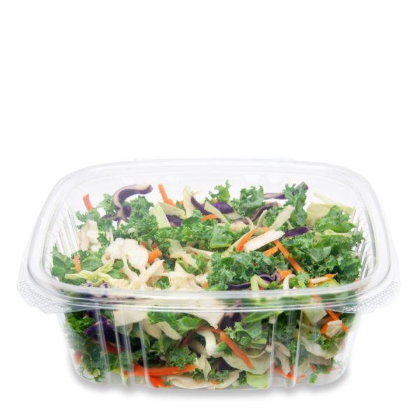 contenedor ecológico compostable con bisagras de 0.94 litros