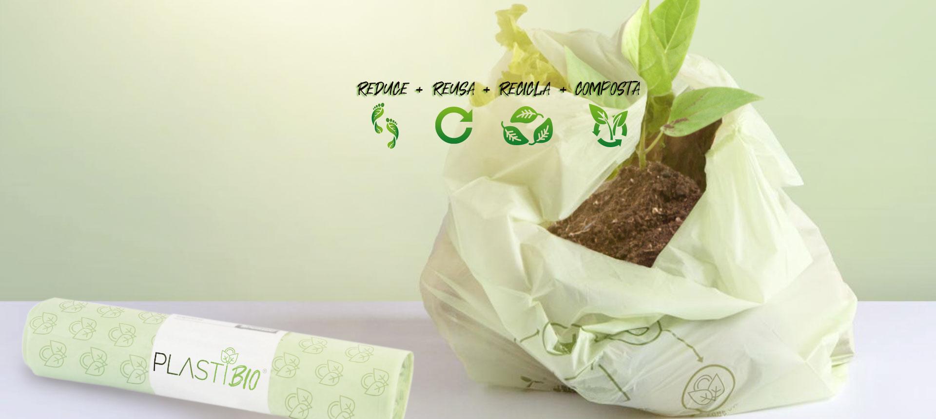 productos compostables Plastibio