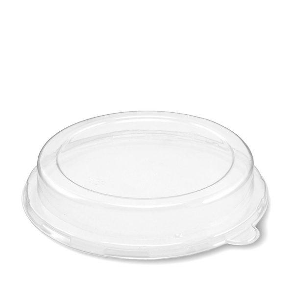 tapa de pet reciclable para tazón compostable de 0.47 litros