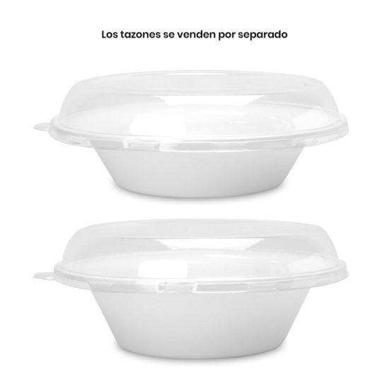 tapa para tazón compostable estilo Pho