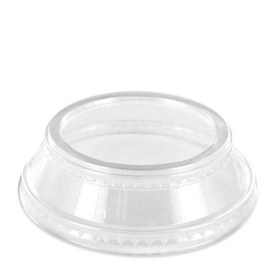 tapa parfait de PLA compostable para vasos de 0.26 a 0.70 litros