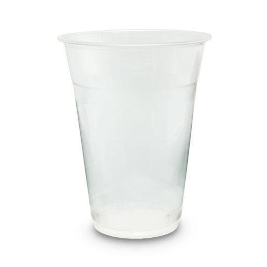 vaso compostable de PLA de 0.47 litros