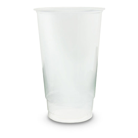 vaso PLA transparente compostable de 0.70 litros