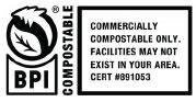 Certificación BPI Compostable